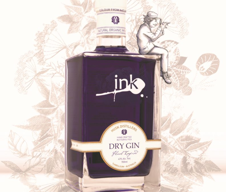 Colour from nature – Ink Gin