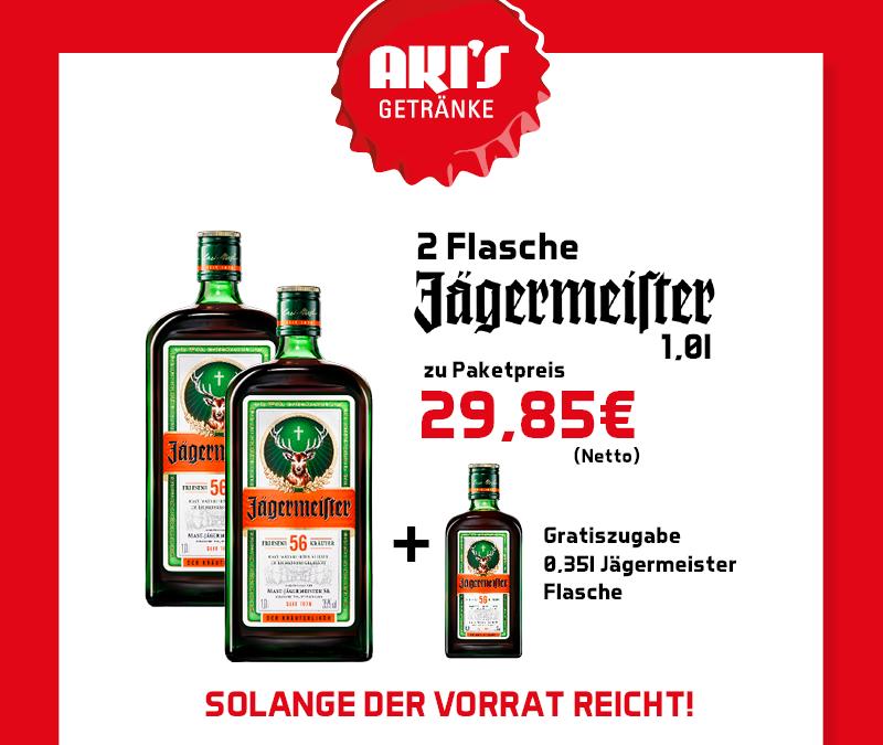 Jägermeister action!